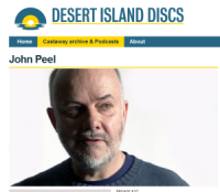 John Peel on Desert Island Discs