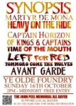 John Peel Memorial All Dayer - click to view larger