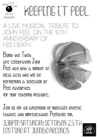 Bomb The Twist presents John Peel Day