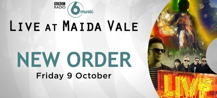 BBC 6 Music Live - New Order