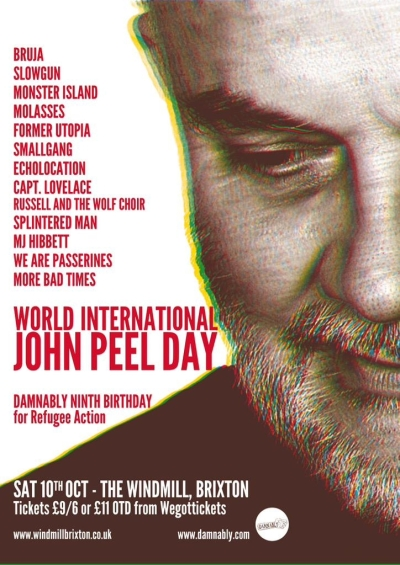 Damnably presents - World International Peel Day 2015