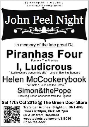 John Peel Night - Brighton - 2015