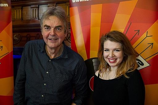 Mark Ellen and Zoë Howe - pic Kevin Cummins