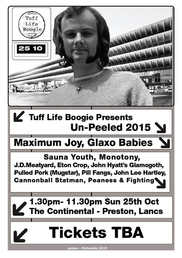 Tuff Life Boogie presents Un-Peeled 2015